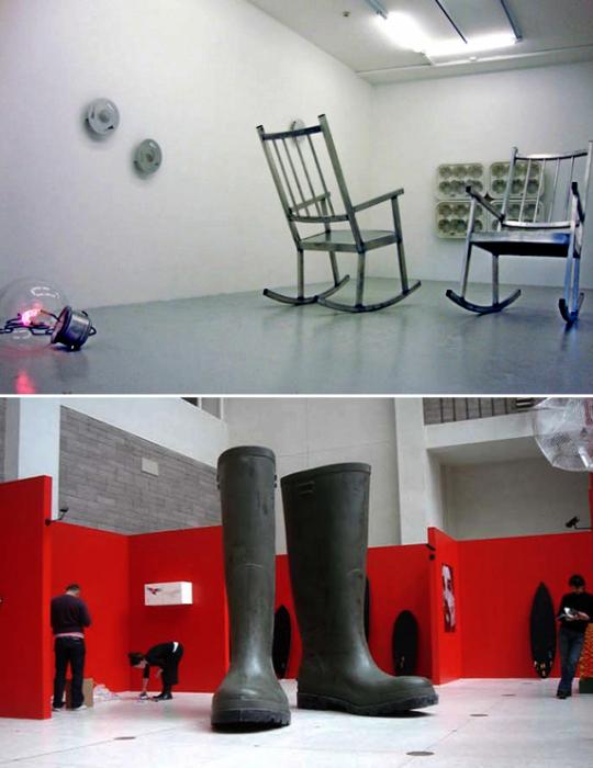 Великанские скульптуры Лилиана Бурго (Lilian Bourgeat)