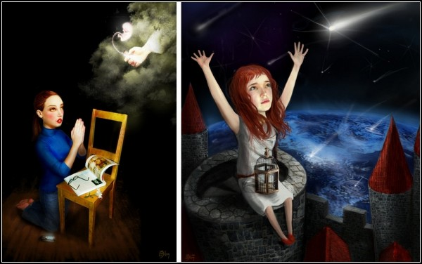 Сказочный сюрреализм от Лизы Фалзон (Liza Falzon)