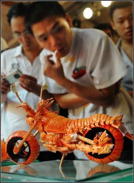 Мастер-класс по food art от Huang Mingbo