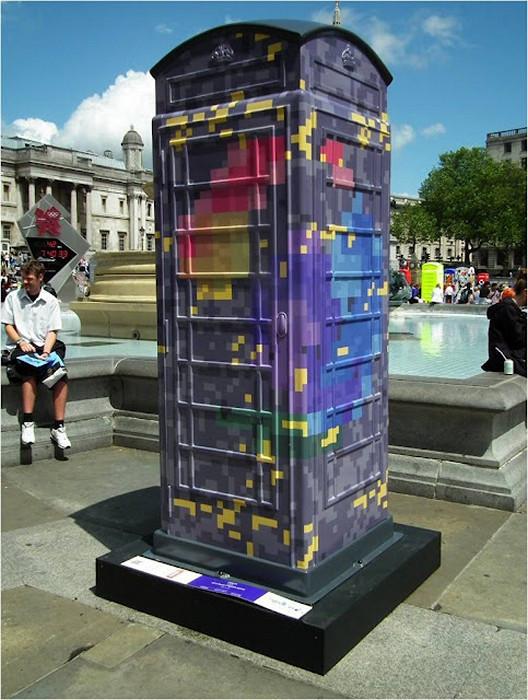 Новый дизайн для знаменитых лондонских телефонных будок. Арт-проект BT Artbox