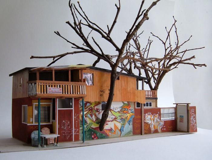 Архитектура в скульптурах Луизы Бристоу (Louise Bristow)