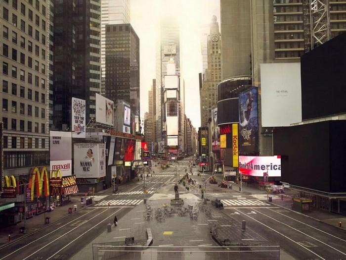 Таймс-Сквер на Манхэттене