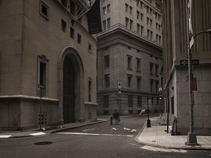 Уолл-стрит, Манхэттен