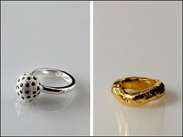 Коллекция золотых и серебряных украшений-*закусок* из серии Taqueria