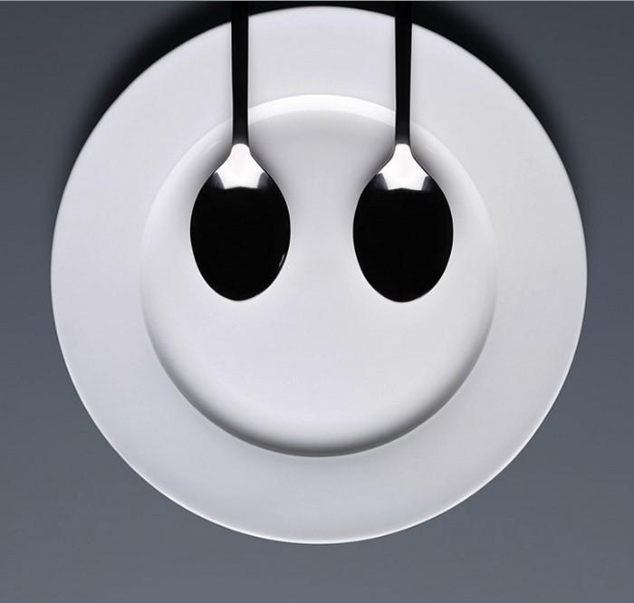 Фарфоровая посуда как главной действующее лицо фотопроекта Lunch Garden