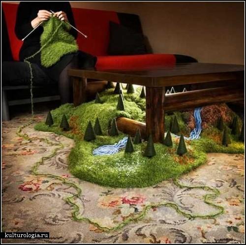 Необычные картины-инсталляции Магдалены Борс (Magdalena Bors)