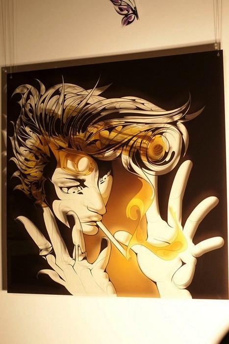 Оригинальное творчество гонконгского художника Мэн Тсуна (Man Tsun)