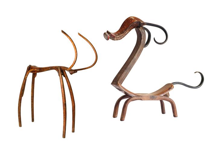 Диковинные животные из деревянной рухляди. Арт-проект от Marc Sparfel
