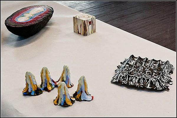 Трехмерное творчество из материалов для творчества двухмерного