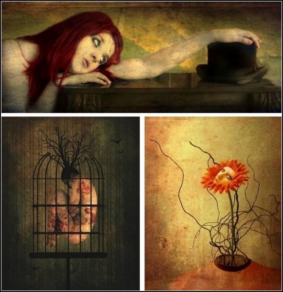 Философские картины Марианны Паловой (Mariana Palova)