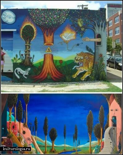 Картины художника-самоучки Марка Шейна Нельсона (Mark Shane Nelson)