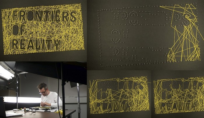Экспериментальный арт-проект Pins and Needles Мартина Пайпера