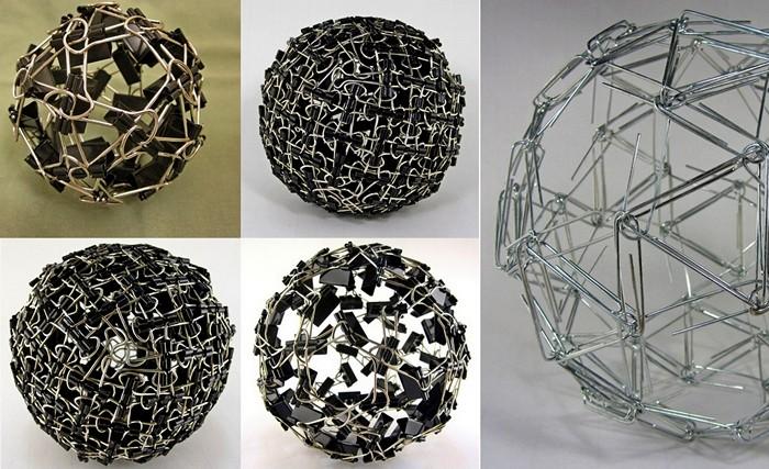 Геометрические скульптуры математика Закари Абеля (Zachary Abel)