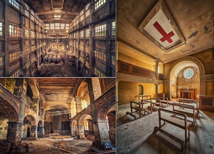Заброшенные миры. Серия фотографий Decay от Матиаса Хакера
