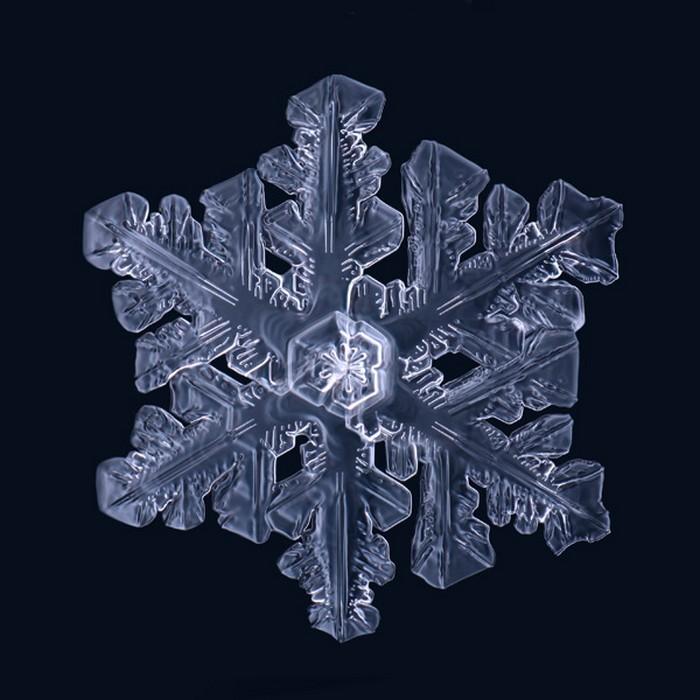 Удивительная макросъемка снежинок от Matthias Lenke