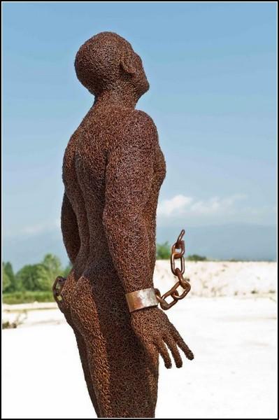 Металлические скульптуры от Mattia Trotta