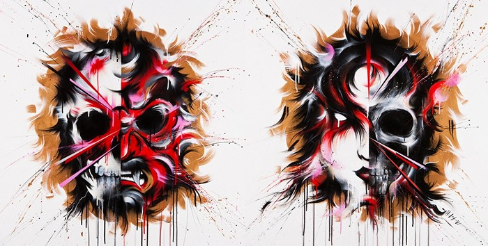 Inner Demons. Внутренние демоны на картинах австралийца Meggs