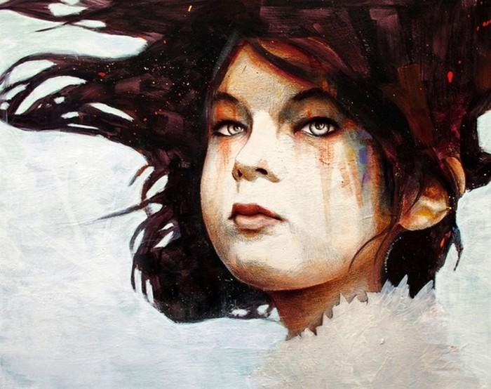 Эмоциональные портреты Майкла Шэпкотта (Michael Shapcott)