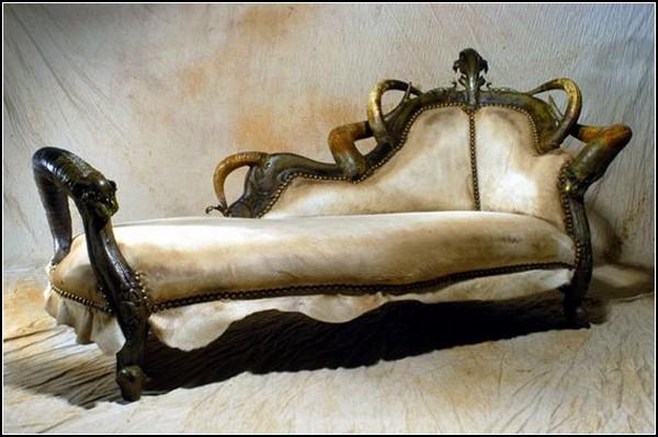 Сатанинская арт-мебель Мишеля Хайлларда (Michel Haillard)