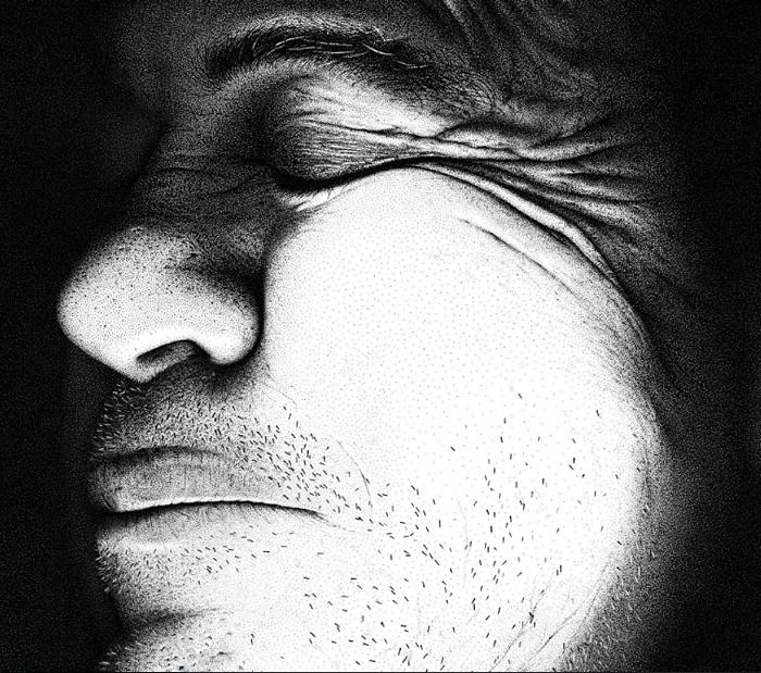Hero. Портрет отца из 3,2 млн. чернильных точек
