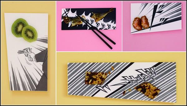 Арт-посуда Manga Plates для суши и прочих лакомств