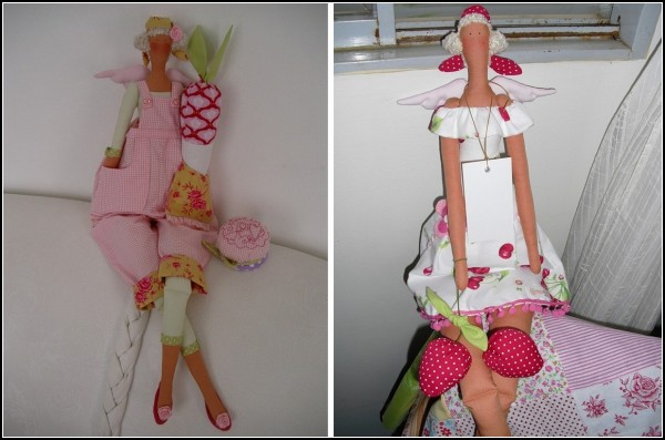 Mimidolls. Мягкие кукольные ангелы-Тильды