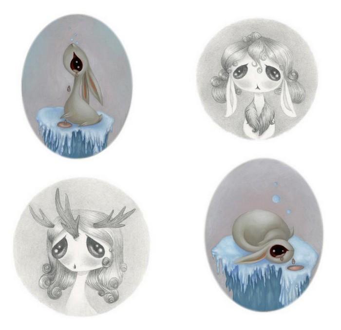 Чем нам грозит экологическая катастрофа: странные живые существа от художницы Miso