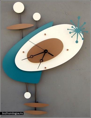 ���������� ���� Modern Retro clock