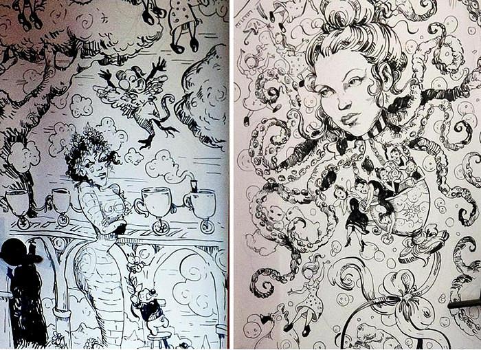 Week in Hell, сумасшедший арт-проект американской художницы