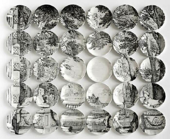 Plate paintings. Картины в виде паззлов