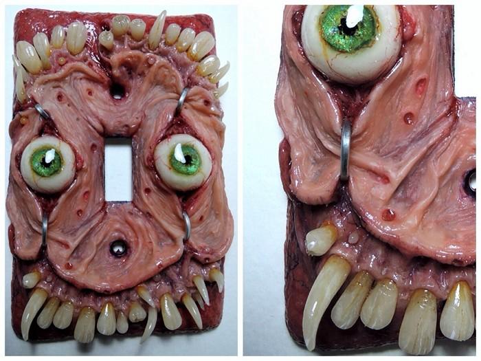 Декоративный выключатель из кошмарных снов