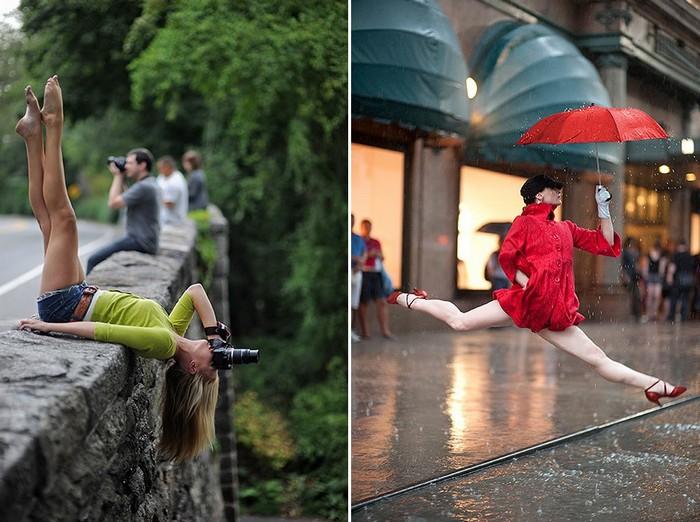 Люди, живущие в ритме танца. Фотопроект Dancers Among Us