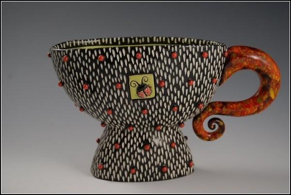 Расписная керамика от Натальи Сотс (Natalya Sots)