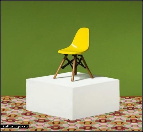 Средневековые стулья на картинах Нейта Ронниджера (Nate Ronniger)