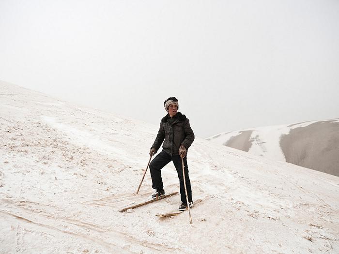 Skier, Afghanistan