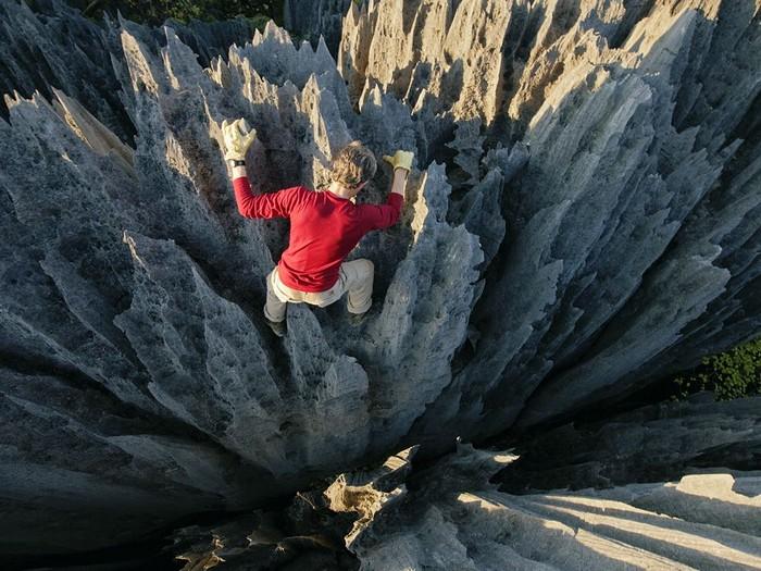 Tsingy Climbing, Madagascar