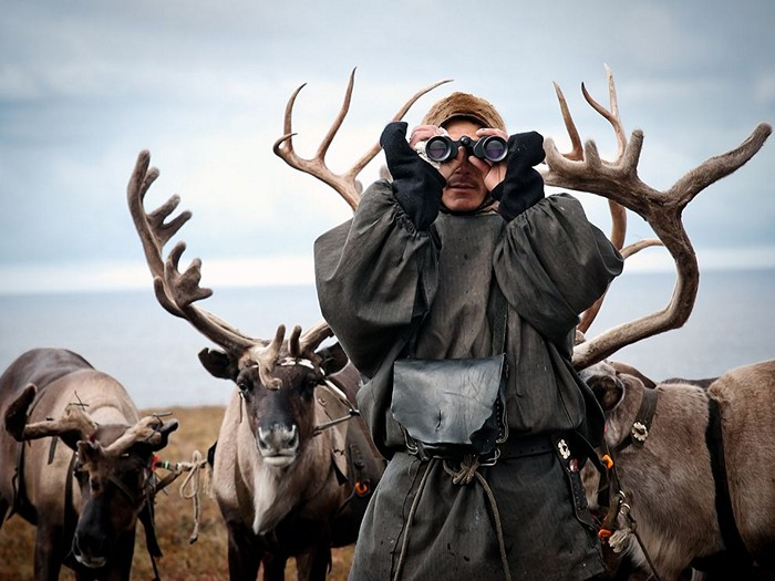Reindeer Herder, Siberia