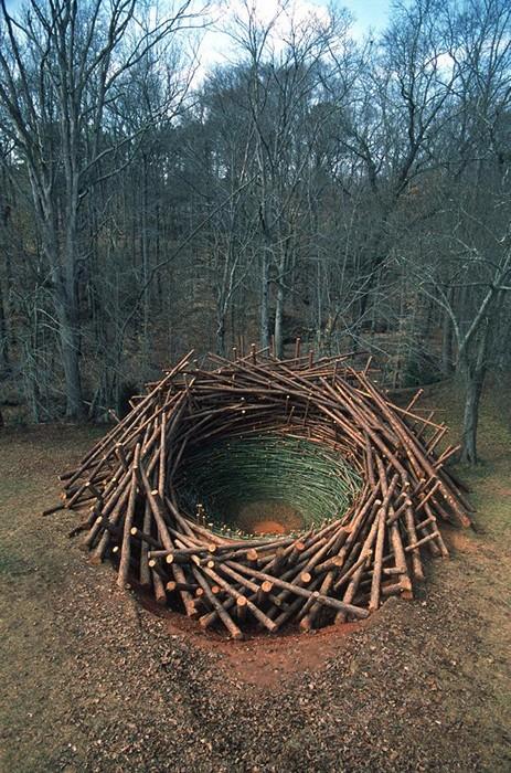 The Nest. 80-тонная инсталляция от Нильса Удо