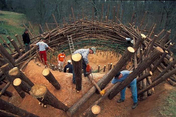 The Nest. Скульптура-гнездо весом в 80 тонн
