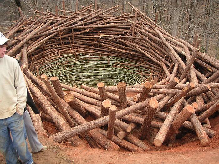 The Nest. 80-тонное гнездо от Нильса Удо
