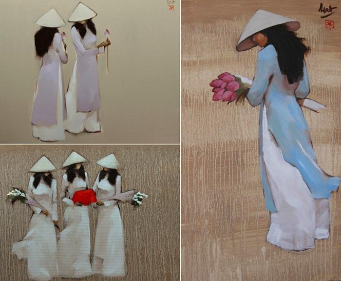 Минималистичные картины Nguyen Thanh Binh