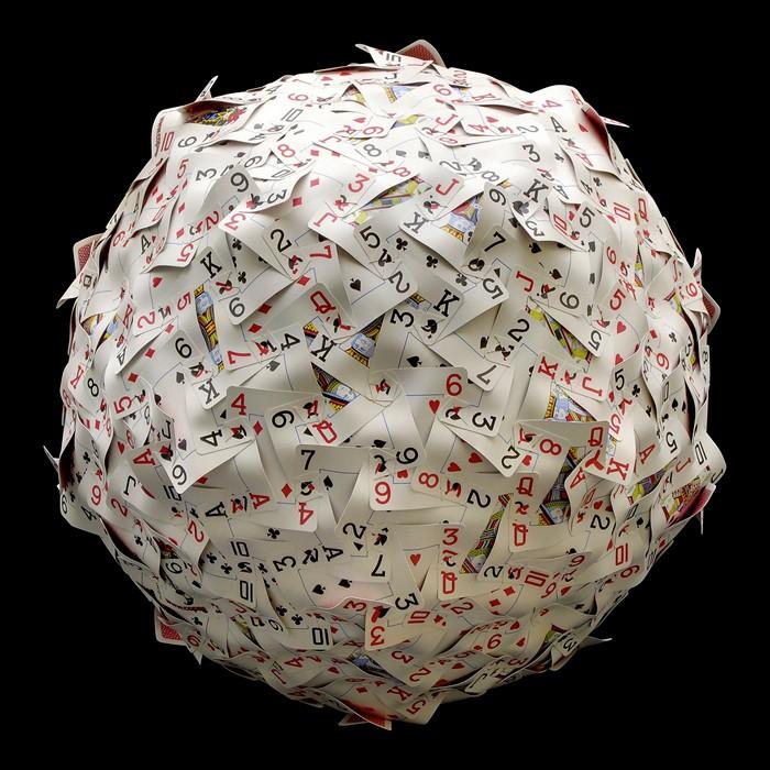 Сферические скульптуры из арт-проекта Spheres. Креатив Ника Сэйерса (Nik Sayers)