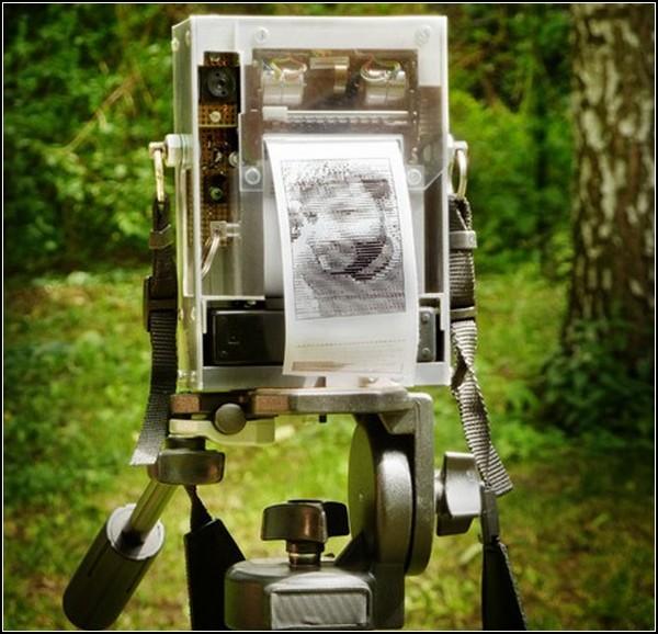 Электронная фотография-рисунок от Electronic Instant Camera. Проект Николаса Роя