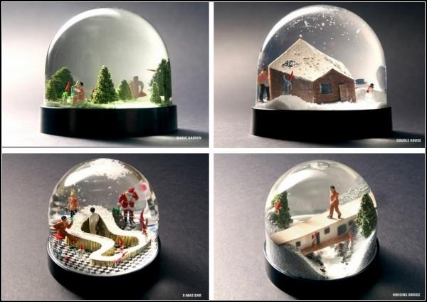 Man and Nisse. Стеклянные шары от JAJA Architects