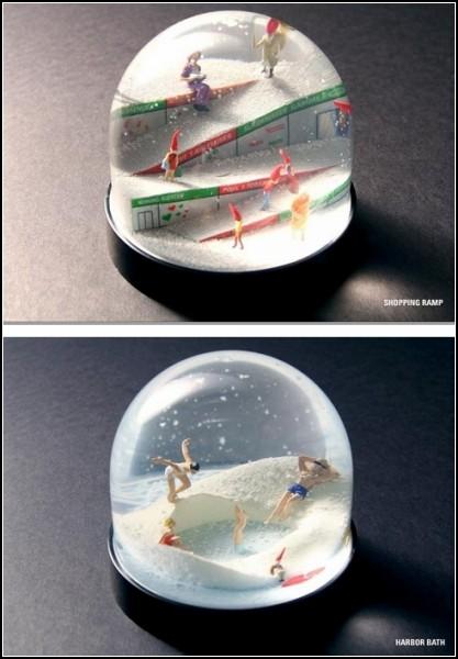 Рождественские эльфы среди людей