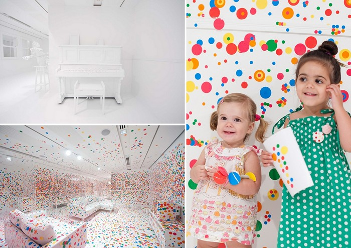 Маленький художники превращают белую комнату в инсталляцию Obliteration Room