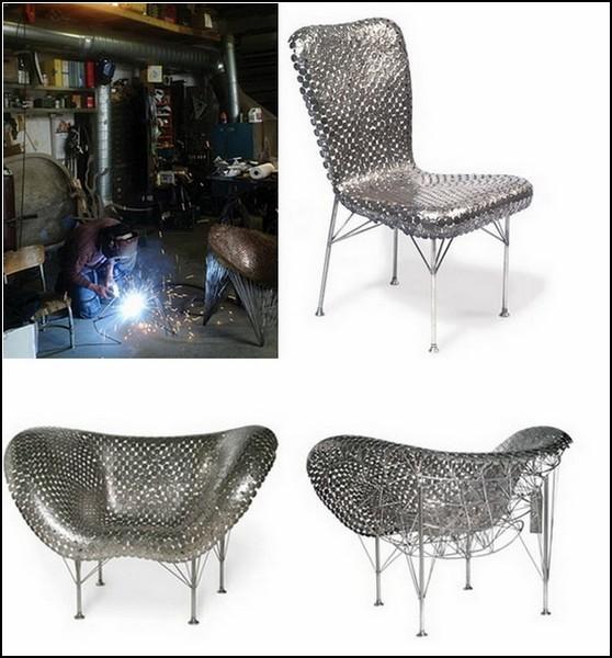 Obsessive Furniture. Арт-мебель из монет