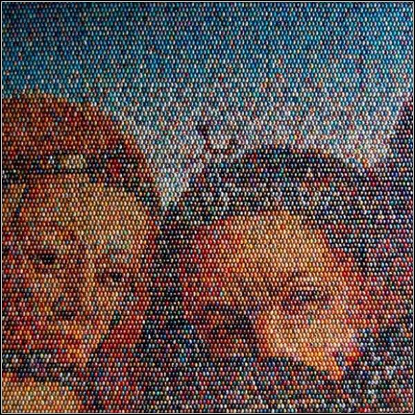 Инсталляция одесской художницы Оксаны Мась: Гентский алтарь из миллионов писанок