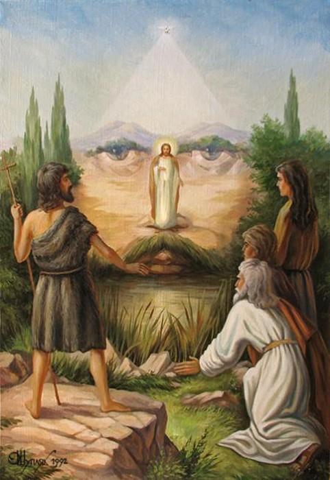 Явление Мессии. Оптические иллюзии в картинах украинского художника