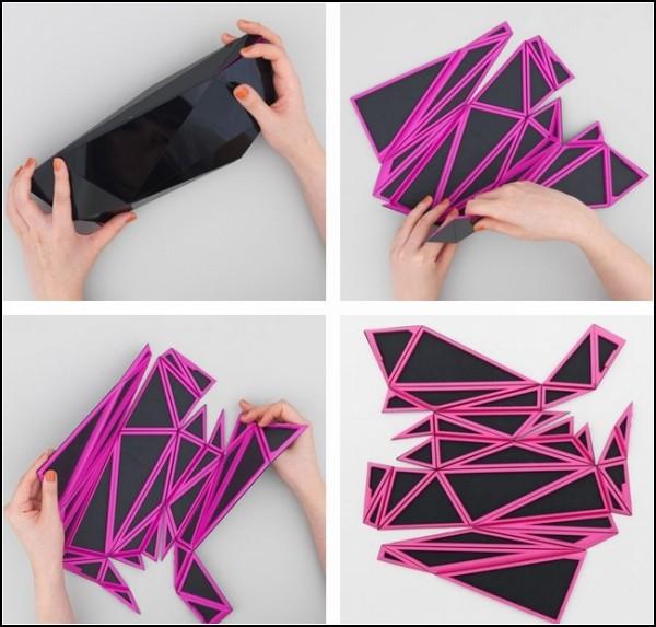 Модное оригами. Сумки Orishiki от Наоки Кавамото